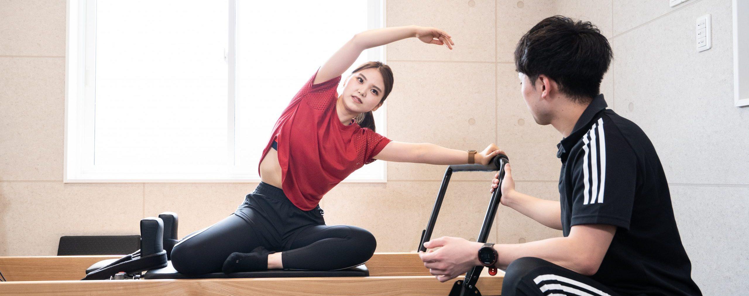 ピラティス会員|福島市のパーソナルトレーニングはD'mov Training Center