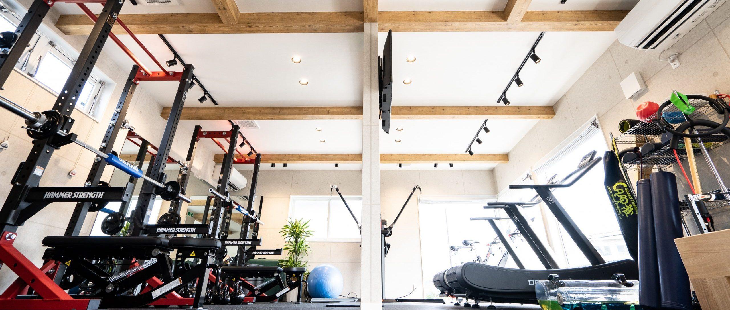 福島市のトレーニングジム|D'mov Training Center
